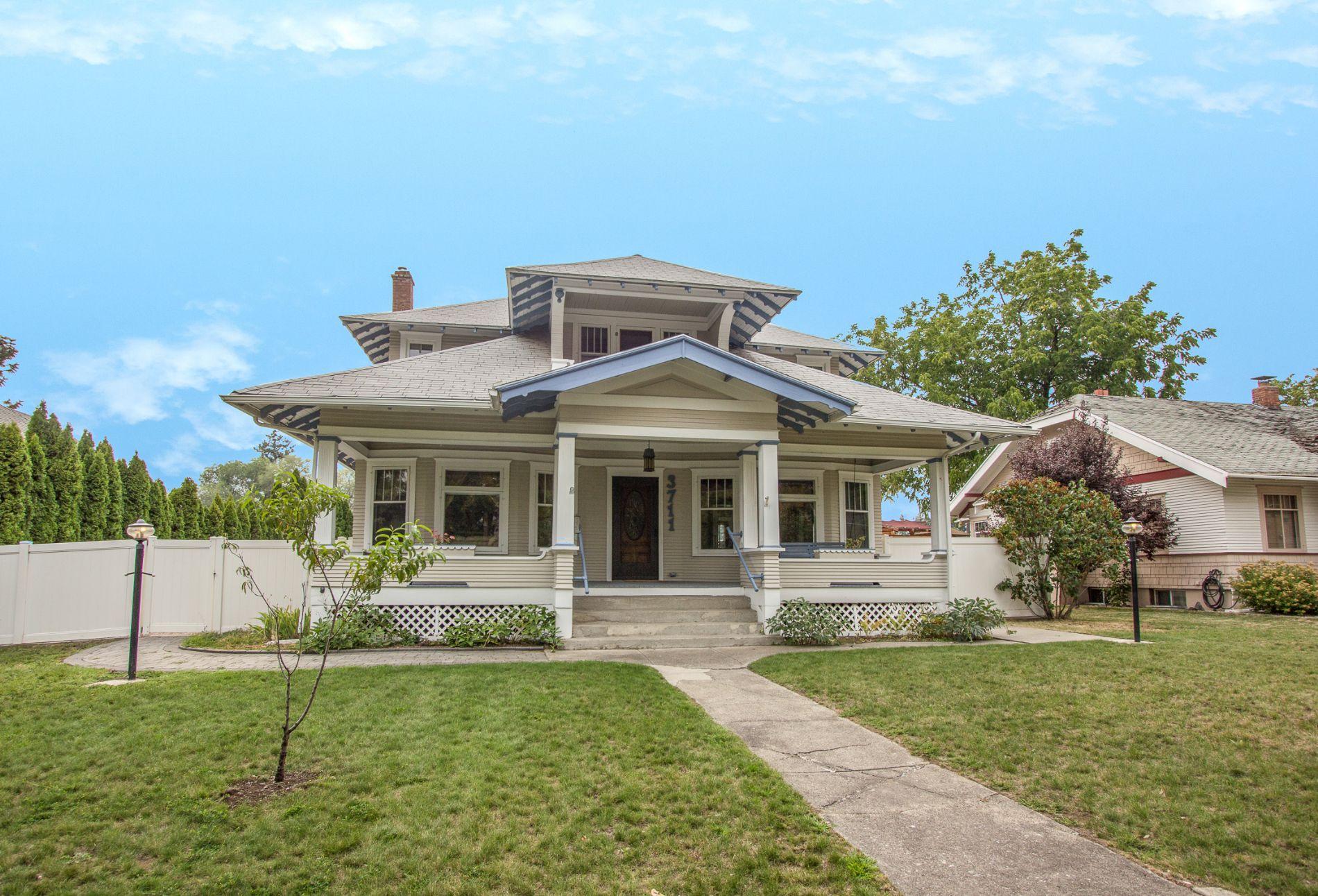 Updated Victorian Great Neighborhood Large Rooms 3711 N Calispel Spokane Wa